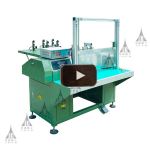 RX01 Semi-auto coil winding machine